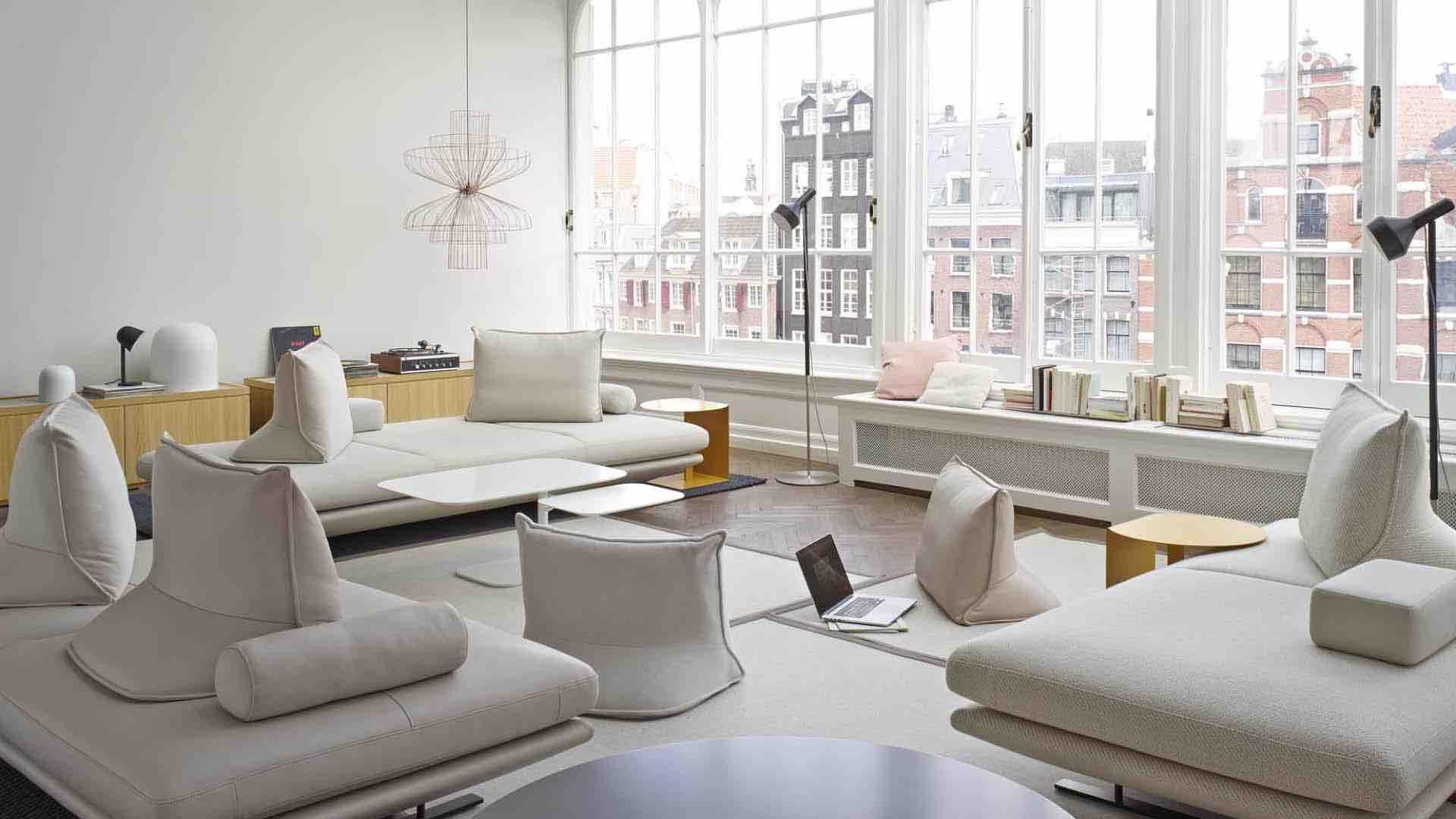 Salon et canapé Cinna à Genève